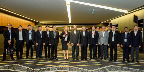 Singapore Business Federation with Minister