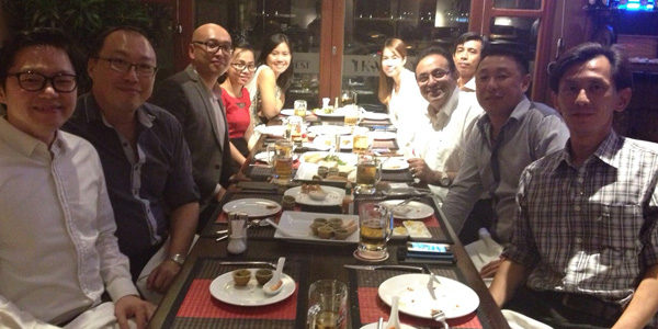 Celebrating market Leadership with a Cambodian Distributor in Phnom Penh