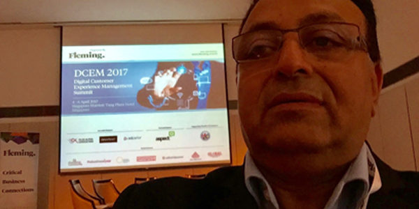 Dr Alok Bharadwaj at Fleming customer conference Singapore