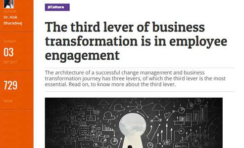 People Matters: The Third lever of business transformation
